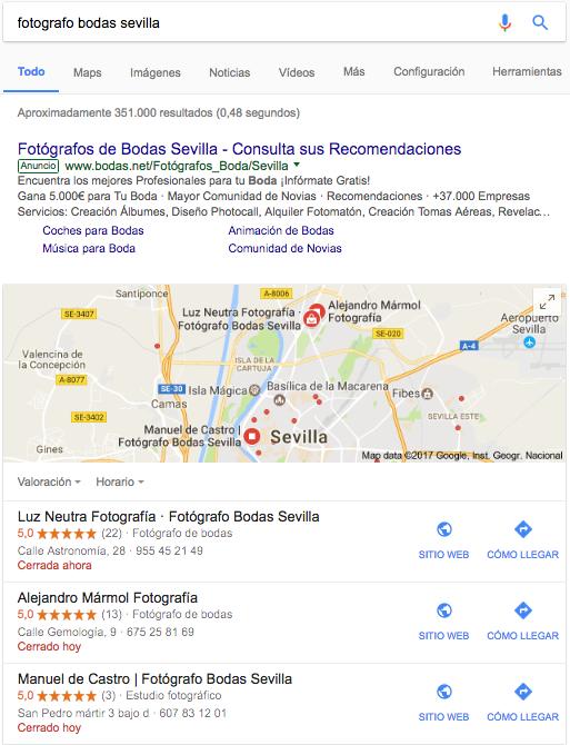 El seo local permite posicionar su web a nivel local, permitiéndole segmentar las localidades donde quieran prestar sus servicios o vender sus productos