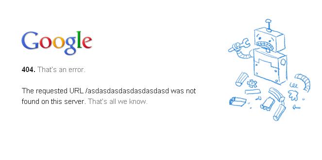 Error 404, páginas web que no funcionan o devuelven errores y por lo tanto hacen perder dinero a la empresa