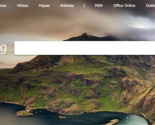 Bing es el buscador de Microsoft , una alternativa muy válida frente a Google