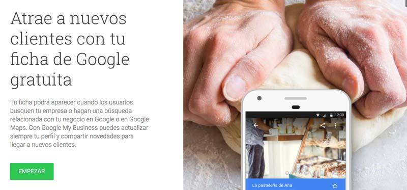 Mejora la visibilidad de tu empresa, aumenta tus ventas, potencia tu seo local con Google My Business