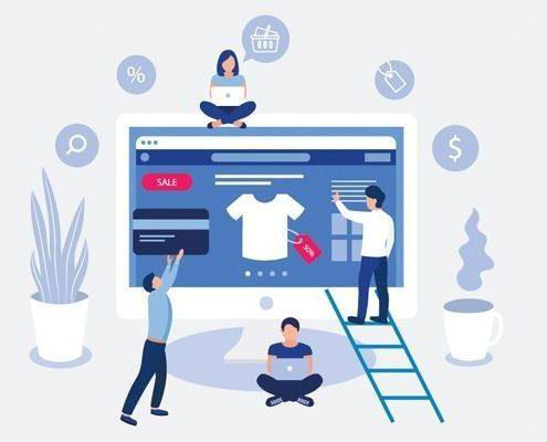 Creacion y diseño de paginas web ecommerce en Sevilla