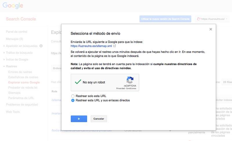 trucos para indexar en google rápidamente