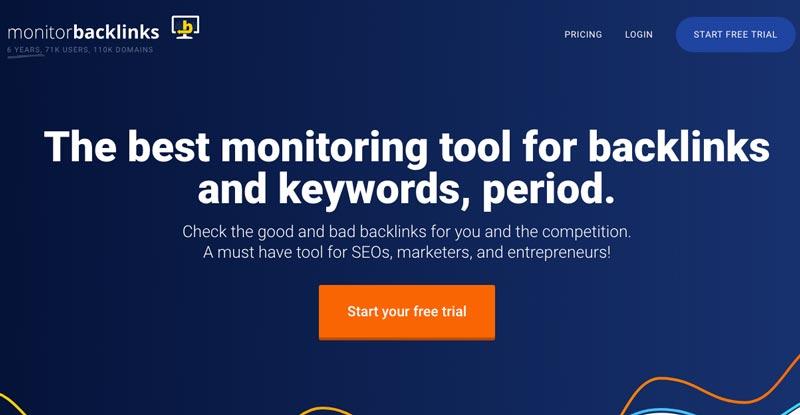 Mide los enlaces propios y de la competencia con la herramienta Monitor Backlinks