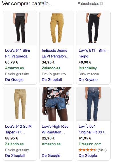 agencia para anuncios google shopping en Sevilla