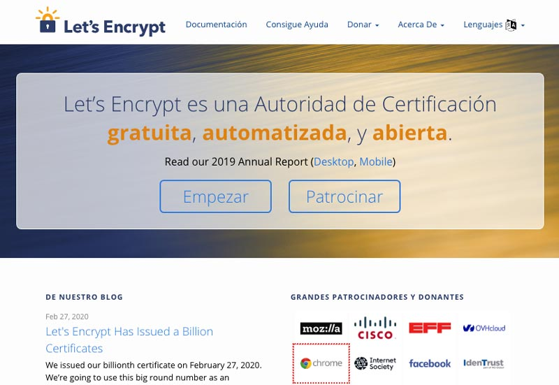 Certificados ssl gratuitos · Consultoria Seo Sevilla